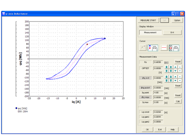 図3 インバータ調整統合ツール(TunerSuite for BL/DC)画面