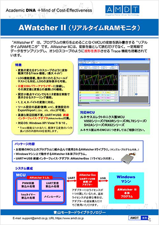 AWatcher II (リアルタイムRAMモニタ)