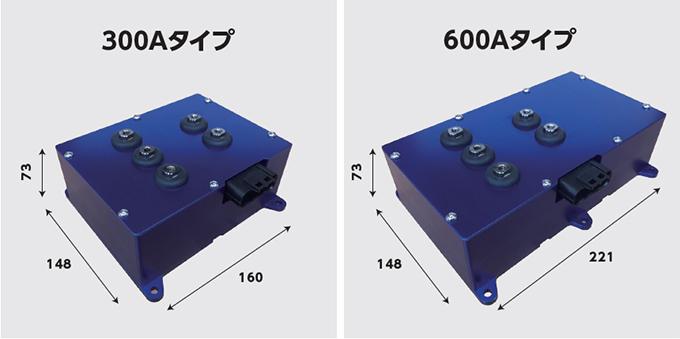 de48V系インバータ300タイプ、600タイプ